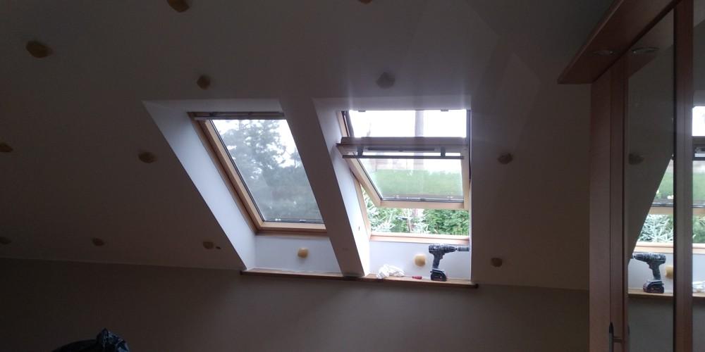 Okno na poddaszu